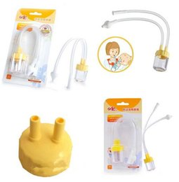 Wholesale Fashion Hot Infant Safe Nose Cleaner Vacuum Suction Nasal Mucus Runny Aspirator High Quality hot baby care