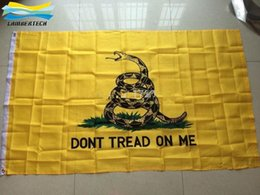 Wholesale America Gadsden White Culpepper Rattlesnake Dont Tread on Me Tea Party x5 ft Flag Rebel Flags Camouflage Flag DHL