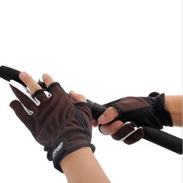 New Anti Slip Fishing Gloves Top Quality Slip-resistant Gloves Outdoor Sports slip breathable glove of professional fishing