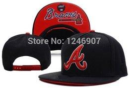 Wholesale One Top Quality Atlanta Braves Baseball Snapback Hats Men s Sport Hip Hop Adjustable Caps Women s Fashion Cotton