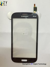 Wholesale for Samsung GALAXY Grand Neo I9060 9060 digitizer touch screen panel glass ZY TOUCH
