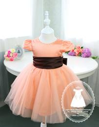 Toddler glitz pageant dress with Brown Sash, Newborn Tutu, Flower Girl Dress Tutu, Baby Tutu 1st Birthday