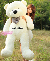 Wholesale Send China post GROUP New arrival FEET TEDDY BEAR STUFFED LIGHT BROWN GIANT size cm birthday gift