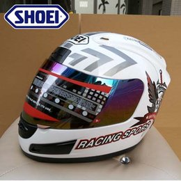 Wholesale SHOEI motorcycle helmet full helmet Motorcycle Helmet ATV helmet Safety dual lens