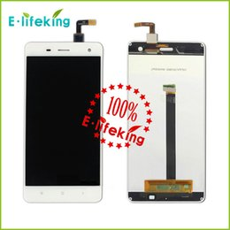 Wholesale Xiaomi M4 Mi4 Lcd screen Original Lcd display Touch panel assembly replacement For Xiaomi Mi4 Smart phone In Stock Free Ship
