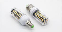 100X E27 E26 E14 GU10 G9 B22 LED Lighta Office Corn Bulb Super Bright 5733 SMD 7W 12W 18W 22W 25W 35W 136 LEDs Warm Cool White Via DHL