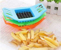 Wholesale Potatoes Cutter Cut into Strips French Fries Tools Kitchen Gadgets Colors Random