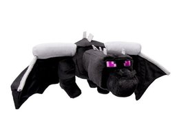 Wholesale Minecraft Enderdragon Plush toys for the children Top Quality Cheap top Deluxe Ender dragon Doll Cartoon Official With Tag Christmas GIFT