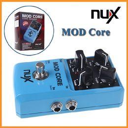 Efectos de modulación en Línea-NUX Stomp Boxes MOD CORE Effect 8 Efectos de modulación - Chorus, Flanger, Phaser, Tremol, Pan, Rotary, U-Vibe y Pedal de vibrato