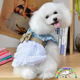 WX03 New Fashion Princess Birthday Cake Pet Wedding Dresses Dog Summer Clothes Puppy Outfit Girl Dress Clothing For Pets Retail