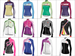2015 Hot new Spring fall women cycling clothing Pro Team Cycling Wear long jersey Bicycle athletic Jersey Cycling Clothing sportswears