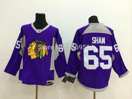 Wholesale Special offer Cheap Men s Best Chicago Blackhawks Jersey Andrew Shaw purple Fights Cancer Ice Hockey Jerseys China No Tax