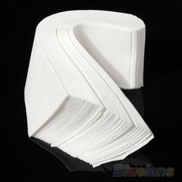 100 pcs Hair Removal Depilatory paper Nonwoven Epilator Wax Strip Paper Roll Waxing 02KA