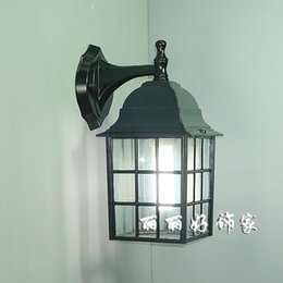 Wholesale Fashion balcony rustic wall lamp courtyard outdoor wall lamp waterproof lamp outdoor wall lamp good design