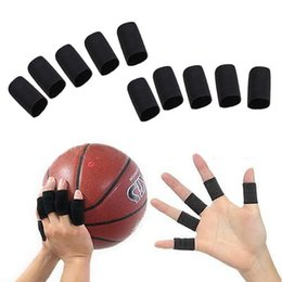 Wholesale 10PCS Stretchy Finger Sleeve Support Wrap Arthritis Guard Volleyball Sports NIVE order lt no track