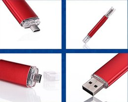 Wholesale OTG USB2 Plastic USB Flash Drives with packings many colors can be choiced