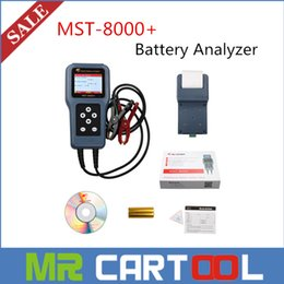 Wholesale DHL Original Master MST Digital Battery Analyzer with Printer Built in Professional Battery Tester Support v v