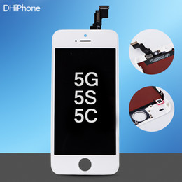 Wholesale 100 tested one by one before shipping LCD touch Screen for iphone G S C by
