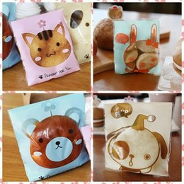Wholesale Cookies Bunny - 400 Cat Bunny Bear Puppy Cookie Bag,Bakery Gift Cello Bag,YN-110703