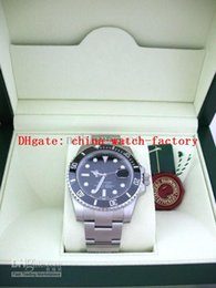 Wholesale luxury MENS SS SUB Perpetual BLACK DIAL CERAMIC with original box papers Watch Men s Watches