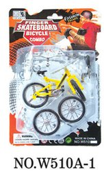 Wholesale New PC Professional Finger cm Bmx Bikes Bicycle Bicicleta Fun Toy For Boys With Gadget Random Color Delivery