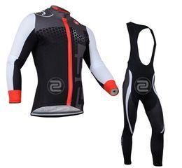 Wholesale-free shipping! 2015 team long sleeve cycling jersey and bib pants Kit,bike jersey