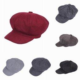 Wholesale 2015 Women Men Casual Newsboy Hats Octagon Hats Stingy Brim Travel Street Caps Mix Colors Choose EPK