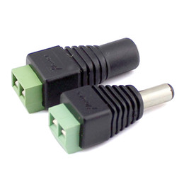 Wholesale Male Female v Dc Power Plug Jack Adapter Connector for Cctv Led for Low Voltage for Led Strip Pairs