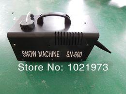 Wholesale mini W Snow Machine With Wire Control or Remote Control Snow Blower Machine For Party DJ Show Machine