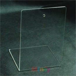 Wholesale School stationery supplies transparent acrylic bookend for bookshelf book stands