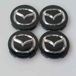 Car Styling 56MM Mazda Wheel Hub Cap Decal Sticker for MAZDA 2 3 5 6 CX-5 CX-7 CX-9 RX8 Center Caps Auto Accessories