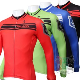 Men's Fleece Thermal Jersey Classic colour Long Sleeve Cycling Jersey Cycling clothing Wind break maillot Winter softshell ciclo Bike outfit
