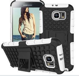 Wholesale Mobile Case For IPhone s plus Samsung Galaxy s6 edge Robot Shockproof Heavy Duty Rugged call phone cases with stand Kickstand