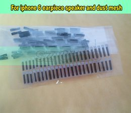 Upper earpiece for iphone 6 lcd replacement ,Ear mesh for iphone 6 refurbish, for broken iphone repair 50pcs lot