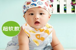 New hot sale Cute Cotton Baby Towel Toddler Newborn Triangle Scarf baby Feeding Smock Infant bibs Burp Cloths drop shipping
