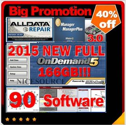 Wholesale HOT new GB Mitchell Repair with Estimator alldata new big auto parts catalogueetc in1 with TB New Hard Disk