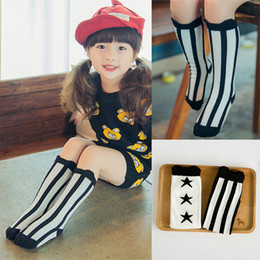 kids long socks baby leg warmers girl legging socks knee pads baby cotton kids Stockings Kids classic socks D563M