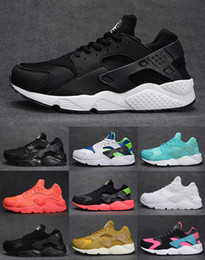 Wholesale 2015 Air Huarache Triple Women Mens Running Shoes Original Quality Air Huaraches Triple Shoes