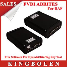 Newest Version FVDI&AVDI Programmer For DAF Multi-language+Free Software For Hyundai Kia Tag Key Tool