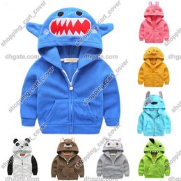Fashion Baby Kid Toddler Infant Child Children Boys Girls Cartoon Animal Hoodie Hooded Jumper Top Outfit Outwear Cloth Costume Coat Jacket
