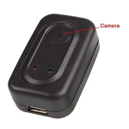 Wholesale 4GB Spy AC Plug Wall Charger Camera Digital Video Recorder Hidden Camera Motion Detection Adaptor DVR Cam