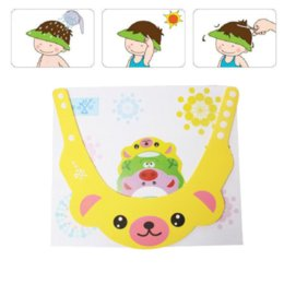 Wholesale Baby Safety Care Shampoo Shower Bathing Bath Protect Soft Cap Yellow Bear Pattern cm quot x cm quot PC new