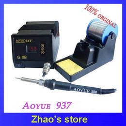 220V Aoyue 937 Hot Air Desoldering Solder Station Electric Soldering Irons