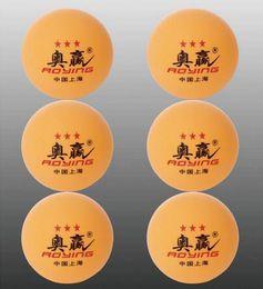 Wholesale 60pcs brand aoying Nice Big mm Stars Best White Table Tennis Balls Ping Pong Big Balls