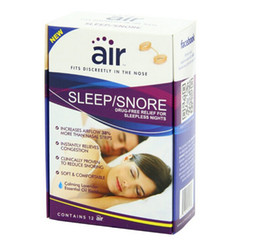Wholesale New Air Sleep and Snore Advanced Nasal Breathing Aid Physical therapy nasal congestion US imported products