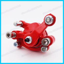 Wholesale Red Front Left Disc Brake Caliper For cc cc cc Stroke Pocket Bike Mini Dirt Bike Gas Scooter Atv Quad order lt no track
