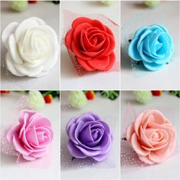 Beautiful Wedding Theme Artificial Bridal Bridesmaids Hand Flowers Wrist Corsage Bouquets 6 Colors Available Free Shipping