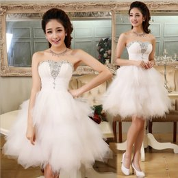 New Fashion Evening Dresses with Beading Sweetheart Bride Gown Short Ball Prom Party Dress Homecoming Graduation Formal Dress