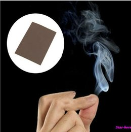 Wholesale New Magic Smoke From Finger Tips Magic Trick Surprise Prank Joke Mystical Fun Toys Drop Shipping Toy Y30346