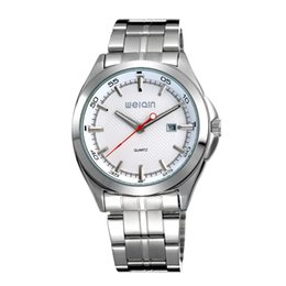 relojes mujer 2015 Brand WEIQIN Women Unisex Japan Quartz Watch Business Watches Mens Full Steel Japan Movt Quartz Wristwatches